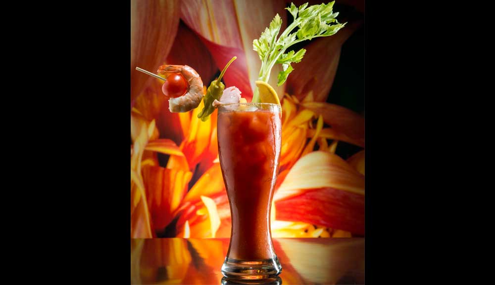 Bloody Mary 鸡尾酒尽在 db Bistro and Oyster Bar