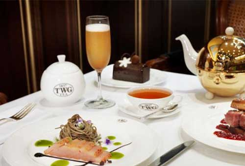 Champagne High Tea in Singapore