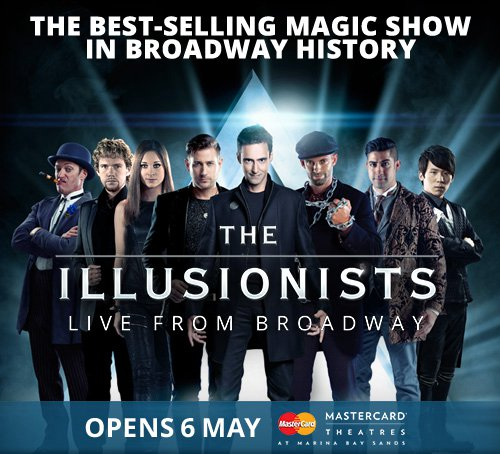 The Illusionists 在滨海湾金沙的演出