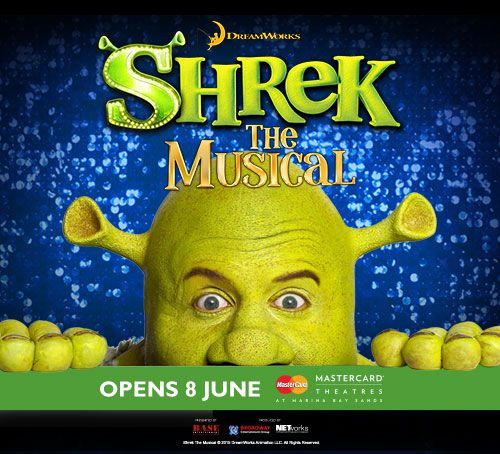 Shrek the Musical at Marina Bay Sands