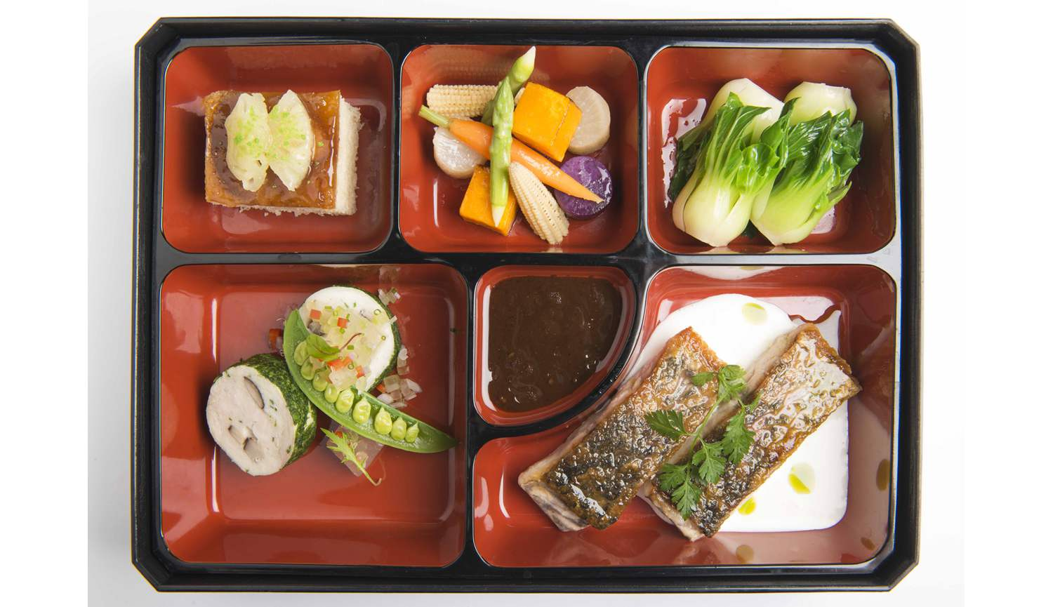 Harvest Menu Signature Dishes - Bento Set