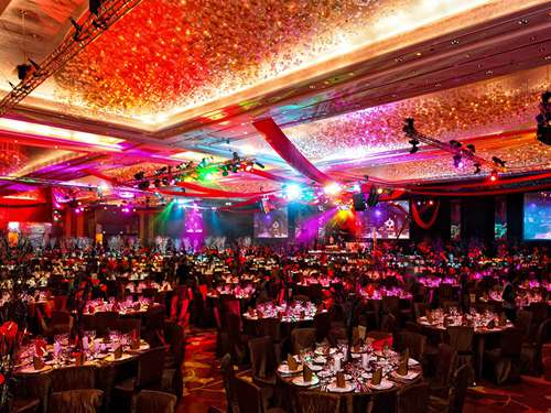 Sands Grand Ballroom in Singapore - the largest ballroom in Southeast Asia