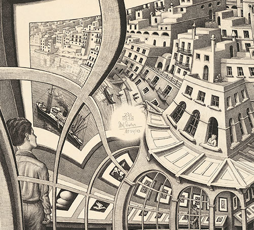 Journey to Infinity: Escher's World of Wonder