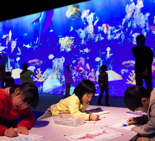 Sketch Aquarium in Future World: Where Art Meets Science