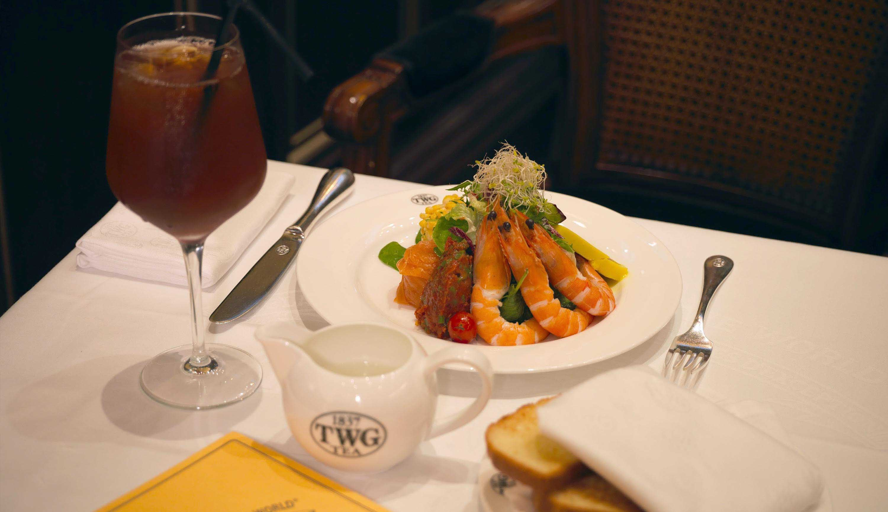 All Day Dining at TWG Tea