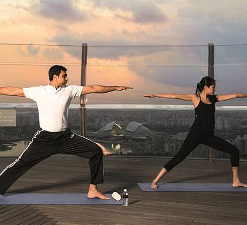 Banyan Tree Fitness Club Marina Bay Sands Privileges