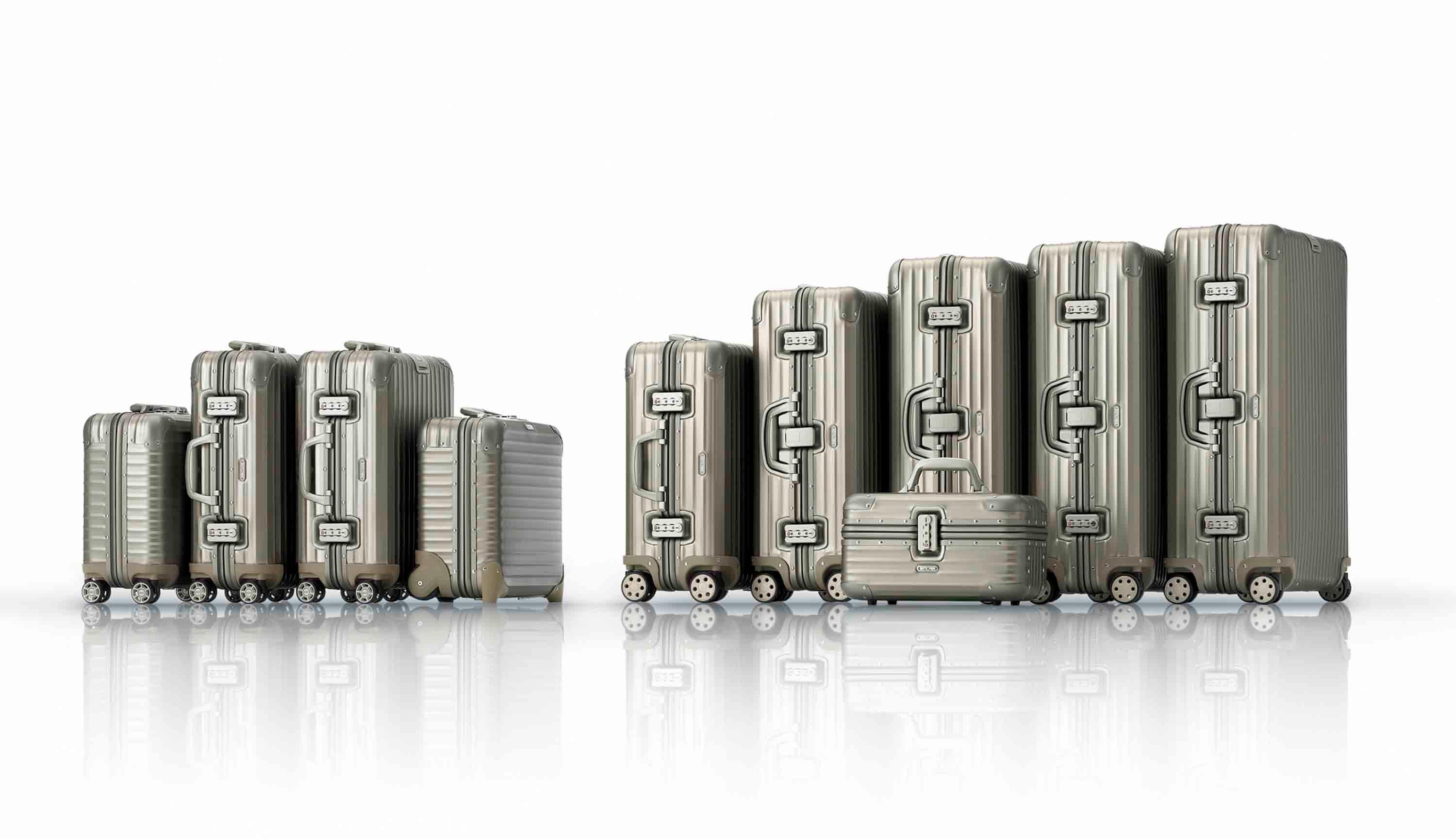 RIMOVA Topas Titanium Collection