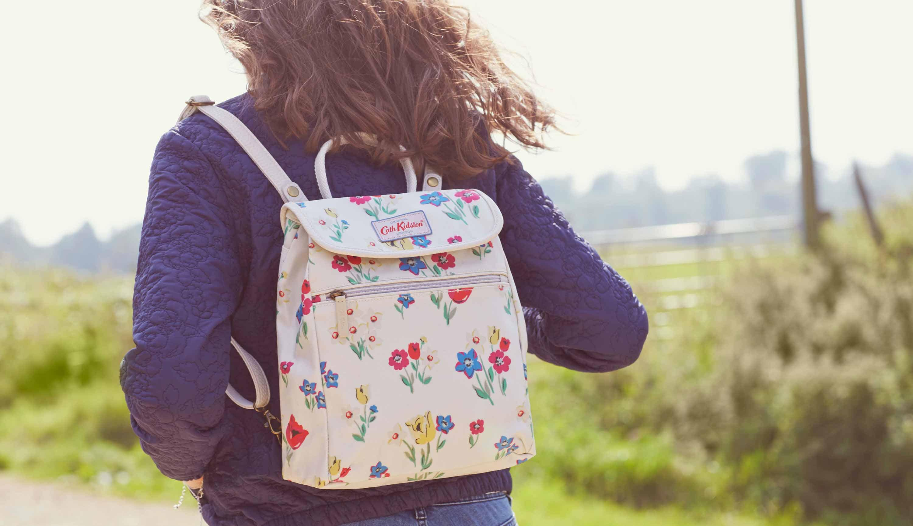 Cath Kidston - Paradise Bunch Handbag and Backpack