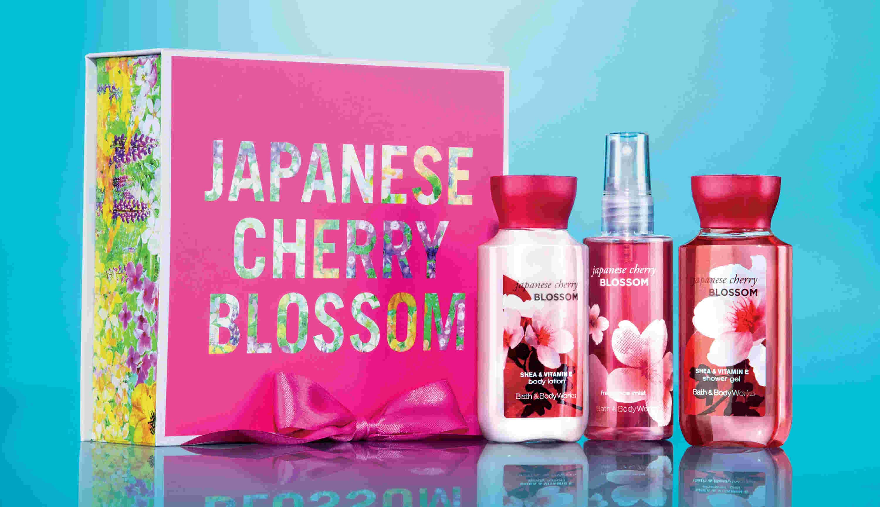 Japanese Cherry Blossom Mini Trio (Travel Size)