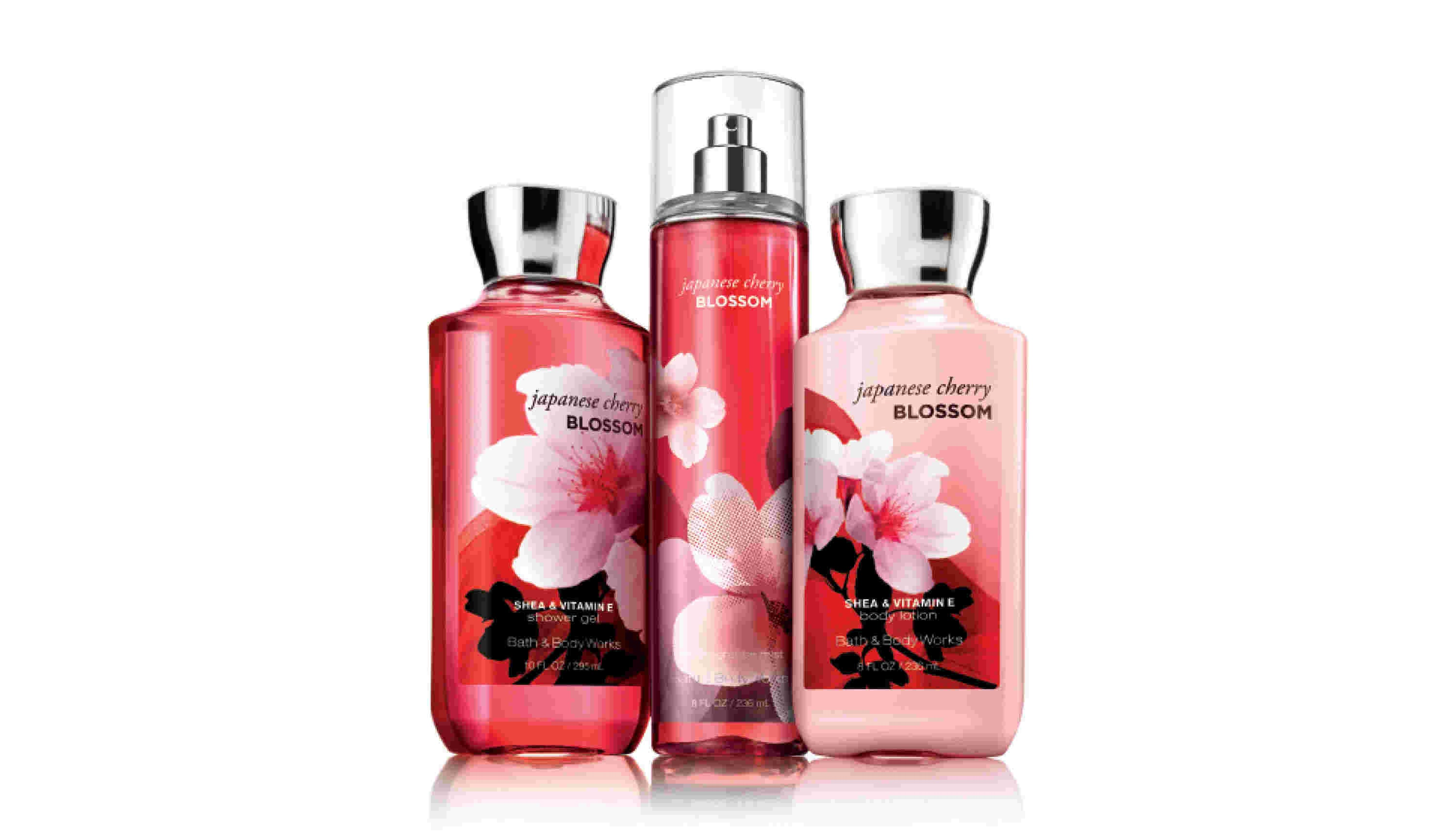 Japanese Cherry Blossom Trio (Full sized)