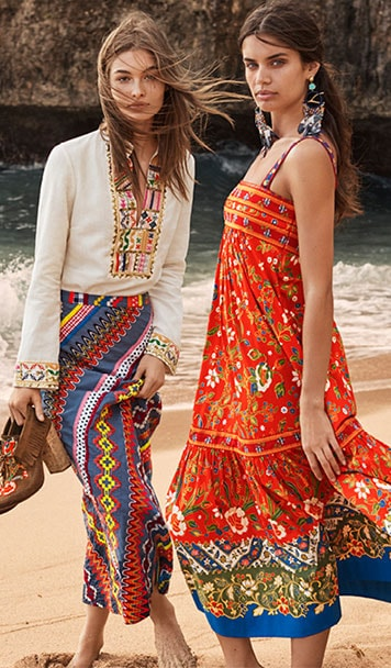 Tory Burch Spring 2017 - The Garden Party Collection